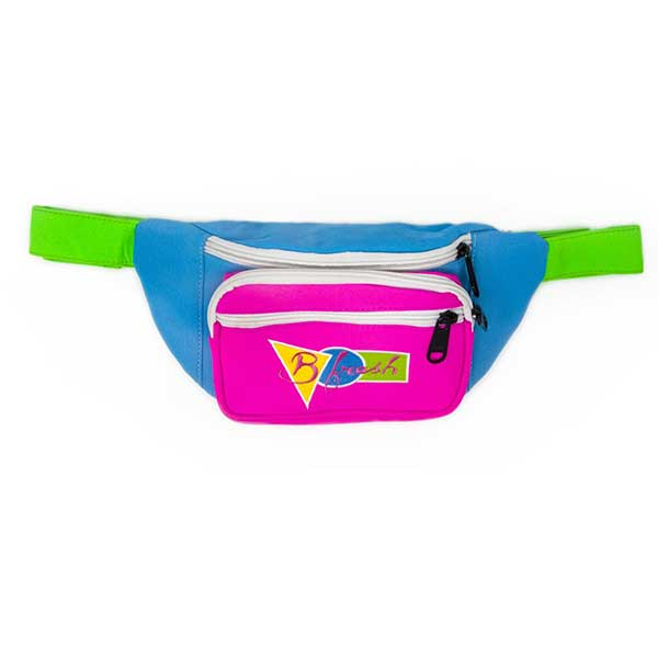 The Saved by the Bell B Fresh Fanny Pack for spring skiing fashion