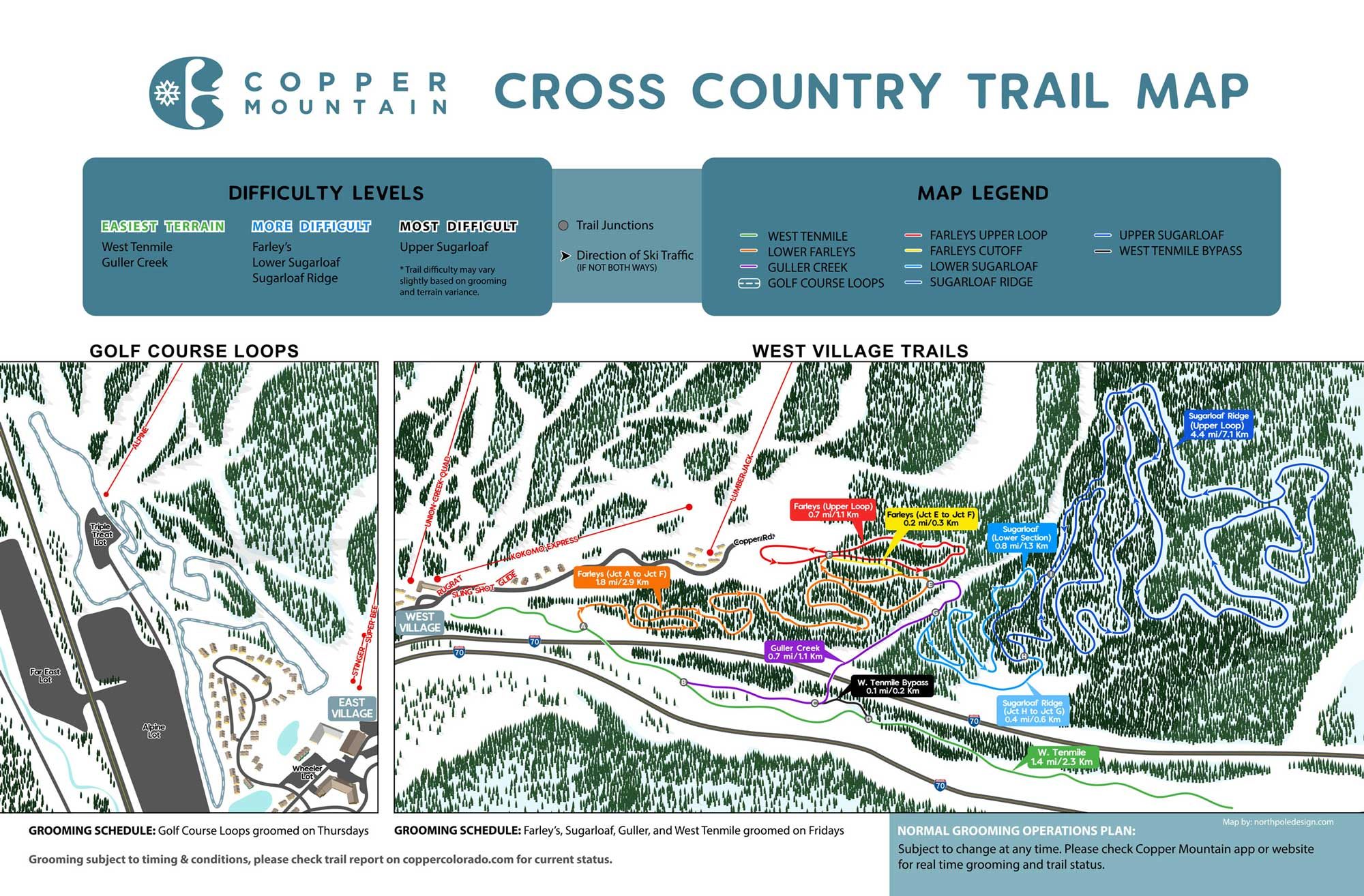 Cross Country Map